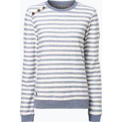Bluzy damskie: Ragwear - Damska bluza nierozpinana – Glorious Stripes, niebieski
