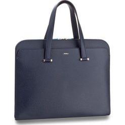 Torba na laptopa FURLA - Vulcano 916731 B U212 ATT  Navy. Niebieskie plecaki męskie Furla. W wyprzedaży za 1039,00 zł.