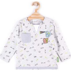 T-shirty chłopięce z długim rękawem: Coccodrillo – Longsleeve dziecięcy 68-86 cm