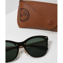 RayBan Okulary przeciwsłoneczne goldcoloured. Żółte okulary przeciwsłoneczne damskie lenonki Ray-Ban. Za 659,00 zł.