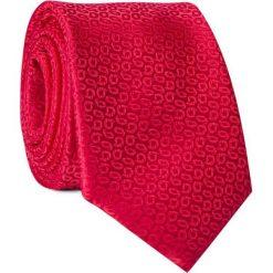 Krawat KWTR001620. Czerwone krawaty męskie Giacomo Conti. Za 69,00 zł.