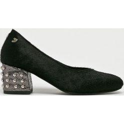 Gioseppo - Czółenka. Szare buty ślubne damskie Gioseppo, z materiału, na szpilce. W wyprzedaży za 269,90 zł.