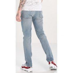 Topman BLEACH CLOUD  Jeansy Slim Fit blue. Niebieskie jeansy męskie relaxed fit marki Topman, z bawełny. W wyprzedaży za 126,75 zł.