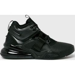 Nike Sportswear - Buty Air Force 270. Czarne buty skate męskie Nike Sportswear, z materiału, na sznurówki. W wyprzedaży za 599,90 zł.