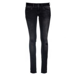 Pepe Jeans Jeansy Damskie Vera 25/32, Czarne. Szare jeansy damskie marki Pepe Jeans, m, z jeansu, z okrągłym kołnierzem. Za 499,00 zł.