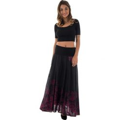 Spódnice wieczorowe: Spódnica w kolorze czarno-różowym