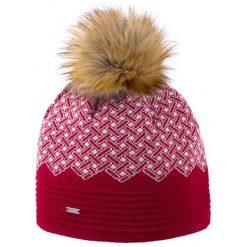 Kama Czapka Damska Merino a130 Czerwona. Czerwone czapki zimowe damskie Kama, z dzianiny. Za 119,00 zł.