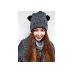 Czapki zimowe damskie: Czapka CHAPOOSIE Graphite Bear