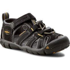Sandały KEEN - Seacamp II Cnx 1012064  Black/Yellow. Czarne sandały chłopięce marki Keen, z materiału. W wyprzedaży za 179,00 zł.
