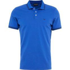 Emporio Armani Koszulka polo blu cina. Szare koszulki polo marki Emporio Armani, l, z bawełny, z kapturem. Za 419,00 zł.