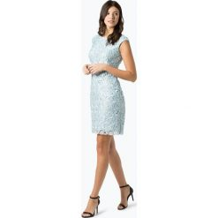 LAUREN RALPH LAUREN - Sukienka damska – Montague, niebieski. Niebieskie sukienki Lauren Ralph Lauren, w koronkowe wzory, z koronki, eleganckie. Za 749,95 zł.