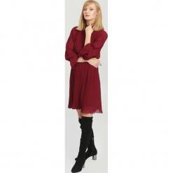 Bordowa Sukienka Bottom Line. Czerwone sukienki hiszpanki other, uniwersalny, midi. Za 109,99 zł.