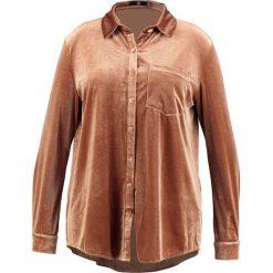 Koszule wiązane damskie: Missguided Plus PLUS VELVET SHIRT Koszula copper