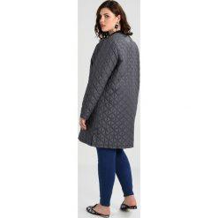 Płaszcze damskie pastelowe: ADIA QUILT OUTDOOR JACKET LONG ROUND NECK Płaszcz wełniany /Płaszcz klasyczny dark iron