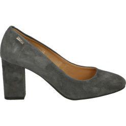 Czółenka - 2158 CAM GRIG. Szare buty ślubne damskie Venezia, ze skóry. Za 299,00 zł.