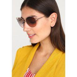Tory Burch Okulary przeciwsłoneczne shiny rosegoldcoloured. Czerwone okulary przeciwsłoneczne damskie aviatory Tory Burch. Za 719,00 zł.