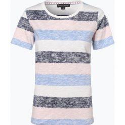 Franco Callegari - T-shirt damski, niebieski. Zielone t-shirty damskie marki Franco Callegari, z napisami. Za 59,95 zł.