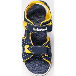 Timberland - Sandały dziecięce. Szare sandały chłopięce marki Timberland, z gumy. W wyprzedaży za 169,90 zł.