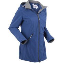 Płaszcz softshell ze stretchem i kapturem bonprix kobaltowy. Niebieskie płaszcze damskie bonprix, m, z nadrukiem, z materiału, sportowe. Za 239,99 zł.