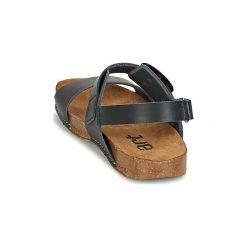 Sandały Art  I BREATHE. Czarne sandały damskie Art, z kauczuku. Za 293,30 zł.