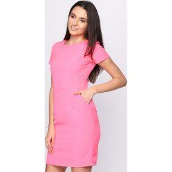Sukienki: Koralowa Sukienka Heart Away