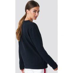 Calvin Klein Bluza Core Monogram Logo - Black. Czarne bluzy damskie Calvin Klein. Za 404,95 zł.