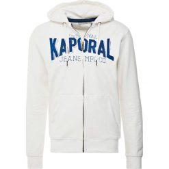 Bejsbolówki męskie: Kaporal ZIPPED  Bluza rozpinana white