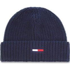 Czapka TOMMY JEANS - Tju Basic Rib Beanie AU0AU00300 496. Niebieskie czapki zimowe damskie marki Tommy Jeans, z bawełny. Za 129,00 zł.