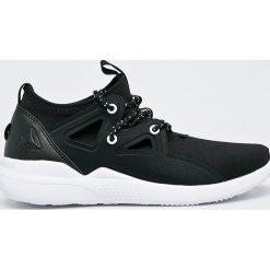 Reebok - Buty Cardio Motion. Szare buty do fitnessu damskie marki Reebok, l, z dzianiny, z okrągłym kołnierzem. Za 249,90 zł.