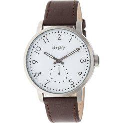 """Zegarki męskie: Zegarek kwarcowy """"the 3400"""" w kolorze brązowo-srebrno-białym"""