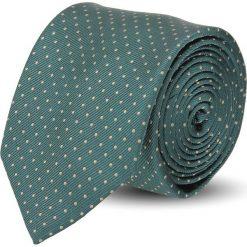 Krawaty męskie: krawat platinum zielony classic 203