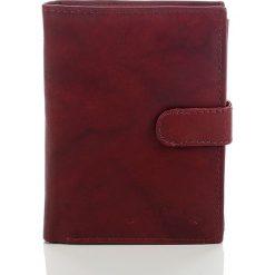 Portfele męskie: Skórzany portfel męski Bag Street Koniak