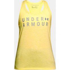 Under Armour Koszulka damska Tborne Train Graphic Twist Tank żółta r. L (1309893-159). T-shirty damskie Under Armour, l. Za 73,13 zł.