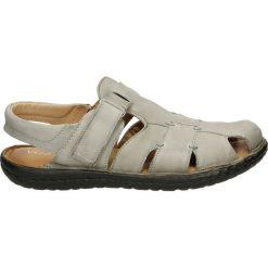 Sandały męskie skórzane: Sandały męskie - 439001 MEDUSA
