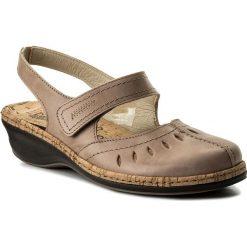Rzymianki damskie: Sandały COMFORTABEL – 720111 Beige 8