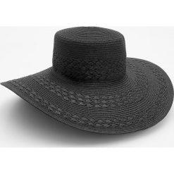 Kapelusze damskie: Czarny kapelusz z dużym rondem – Czarny