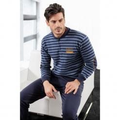 Piżama męska ENRICO COVERI Athletic Blue. Niebieskie piżamy męskie Astratex, m, z dzianiny. Za 128,99 zł.