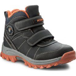 Buty zimowe chłopięce: Trapery ACTION BOY – CP07-16990-01 Granatowy