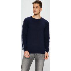 Premium by Jack&Jones - Sweter. Czarne swetry klasyczne męskie Premium by Jack&Jones, l, z bawełny, z okrągłym kołnierzem. Za 219,90 zł.
