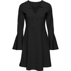 Sukienki hiszpanki: Sukienka ze sznurowaniem bonprix czarny