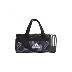 Torby sportowe adidas  Torba 3-Stripes Convertible Graphic Duffel Small. Czarne torby podróżne Adidas. Za 169,00 zł.