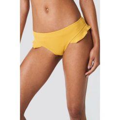Hot Anatomy Dół bikini z falbankami - Yellow. Żółte bikini marki NABAIJI. Za 72,95 zł.