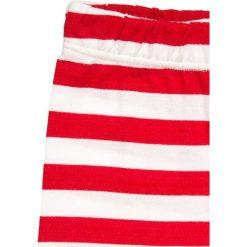 MOSCHINO BABY SET Spodnie materiałowe riga rossa. Czerwone spodnie niemowlęce MOSCHINO, z bawełny. Za 419,00 zł.