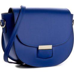 Torebka CREOLE - K10276  Niebieski. Torebki klasyczne damskie Creole, ze skóry. W wyprzedaży za 169,00 zł.
