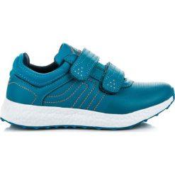 Wygodne buty sportowe HYACINTHE. Niebieskie buciki niemowlęce AX BOXING. Za 72,90 zł.