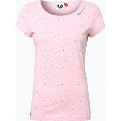 T-shirty męskie z nadrukiem: Ragwear – T-shirt damski, różowy