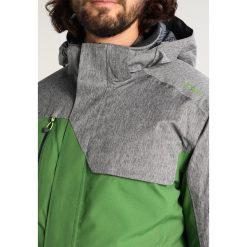 CMP MAN ZIP HOOD JACKET Kurtka snowboardowa edera. Zielone kurtki narciarskie męskie CMP, m, z materiału. W wyprzedaży za 751,20 zł.