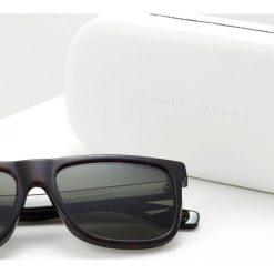 Marc Jacobs Okulary przeciwsłoneczne dark havanna. Brązowe okulary przeciwsłoneczne męskie aviatory Marc Jacobs. Za 759,00 zł.