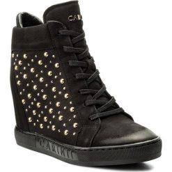 Sneakersy CARINII - B4394 360-000-000-B88. Czarne sneakersy damskie Carinii, z materiału. W wyprzedaży za 279,00 zł.