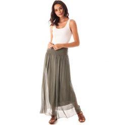 Spódnice wieczorowe: Spódnica w kolorze khaki